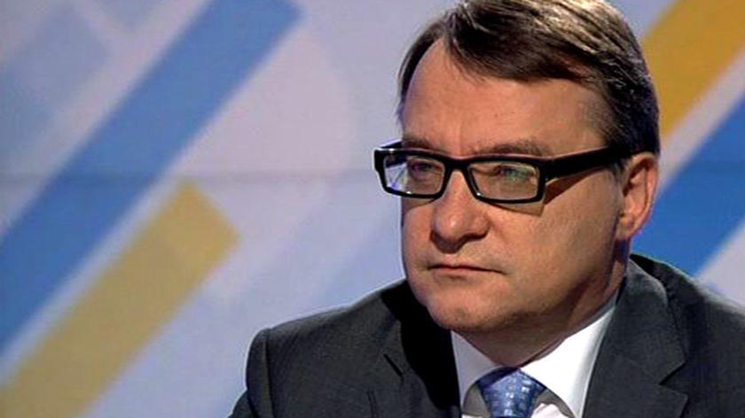 """Marek Biernacki był gościem """"Jeden na Jeden"""" w TVN24"""