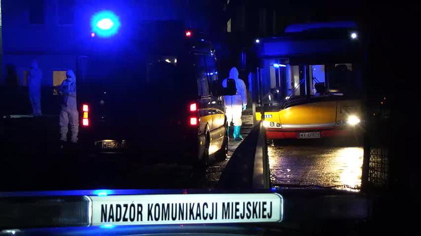 Pierwszy przejazd miejskiego autobusu covidowego do Szpitala Narodowego