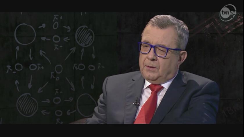 Marian Turski był gościem programu Grzegorza Miecugowa