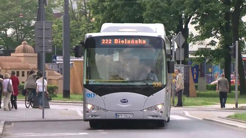 Testy elektrycznego autobusu