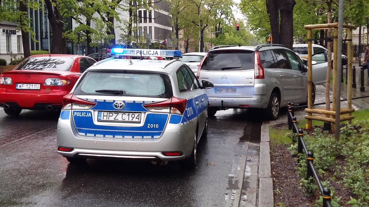 Były policjant aresztowany za