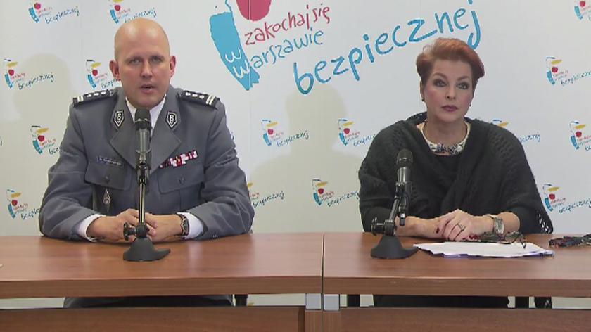 Komendant stołecznej policji mówi o przygotowaniach do zabezpieczenia zgromadzeń