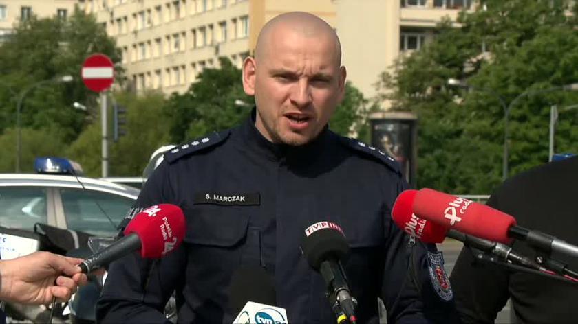 Rzecznik policji o wypadkach na stołecznych ulicach (czerwiec 2020)