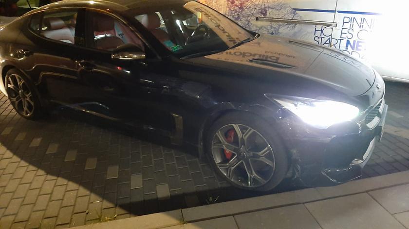 Podejrzewani o kradzież auta zostali zatrzymani na Rydygiera