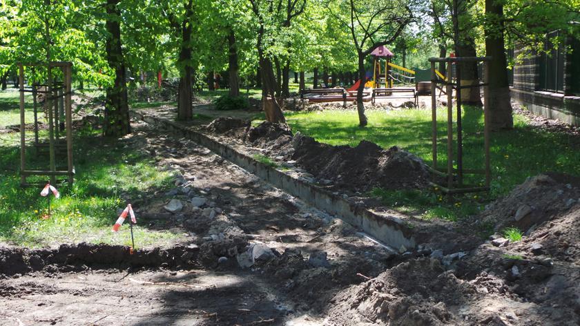 Park Michałowski się zmienia