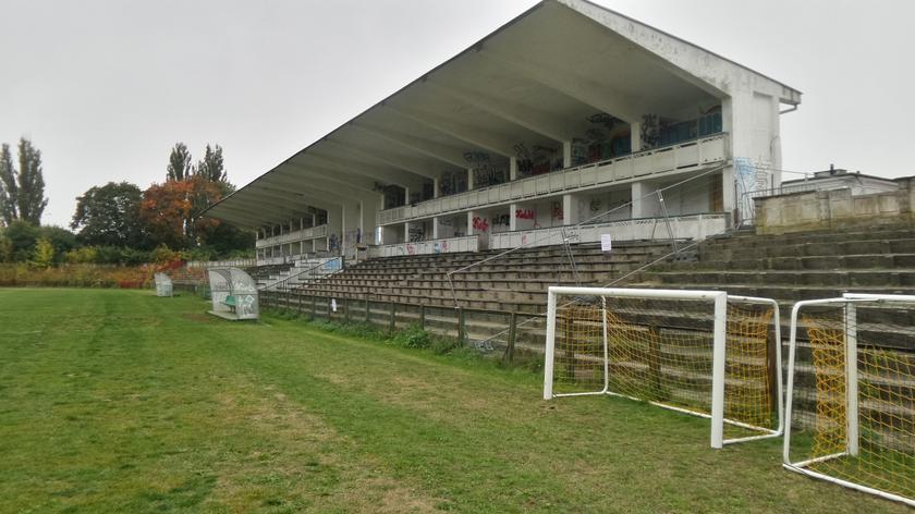Zamknięto trybunę stadionu Marymontu