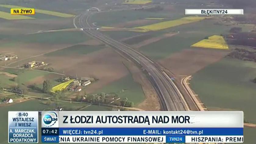 Autostradą nad morze