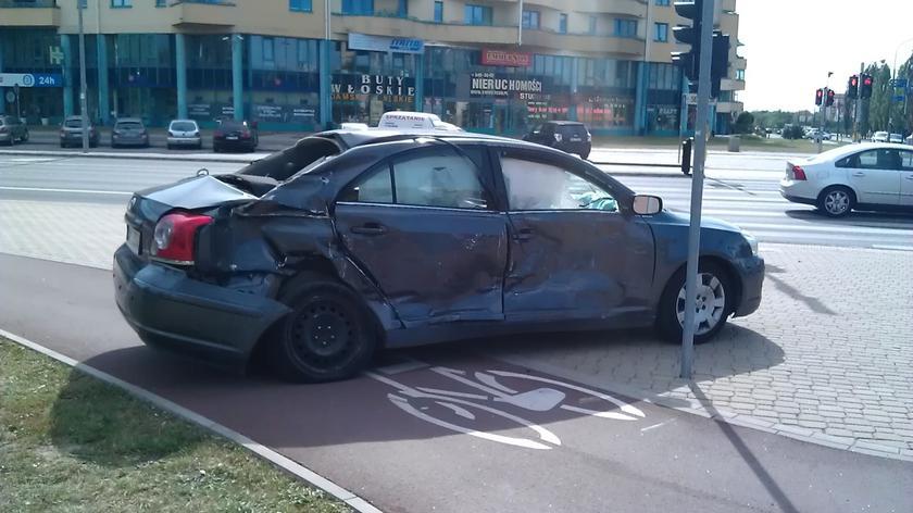Wypadek na Ursynowie