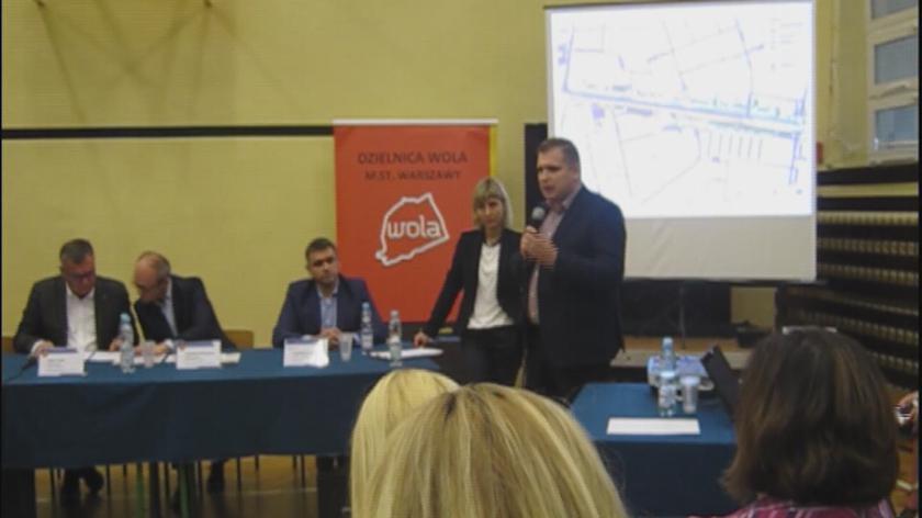 Burmistrz Woli o projekcie organizacji ruchu w czasie budowy metra