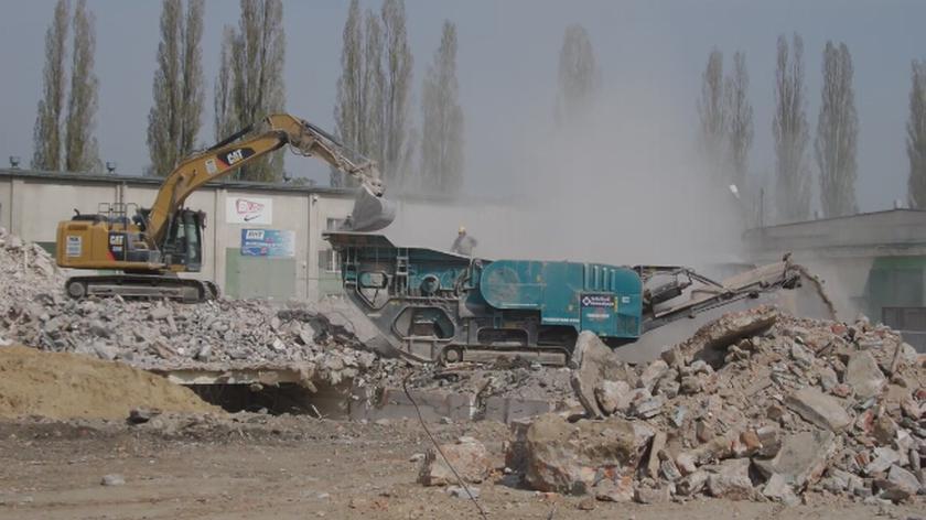 Kurz z budowy na Odolanach