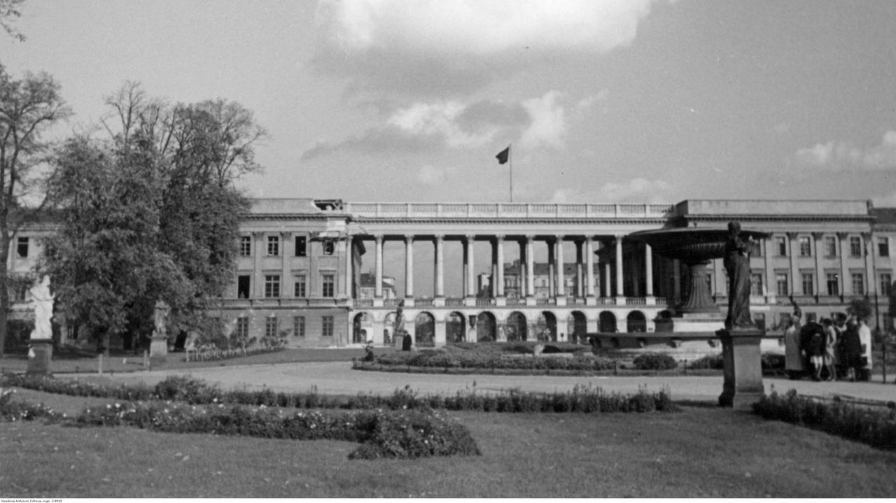Kaczyński: będziemy odbudowywali Pałac Saski