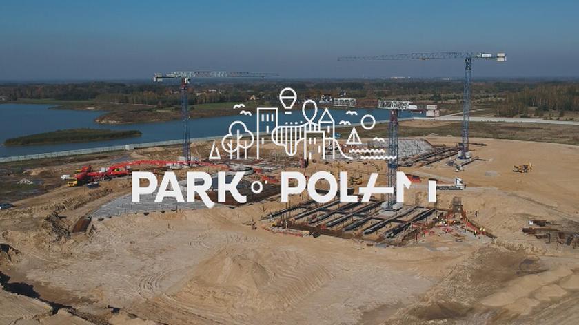 Budowa parku wodnego pod Warszawą
