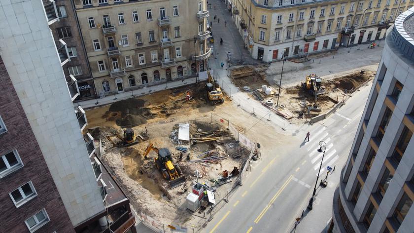 Rozpoczęła się przebudowa placu Pięciu Rogów
