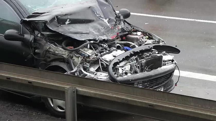 Wypadek na S8