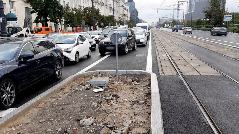 Kierowcy mylą się po przebudowie skrzyżowania w centrum