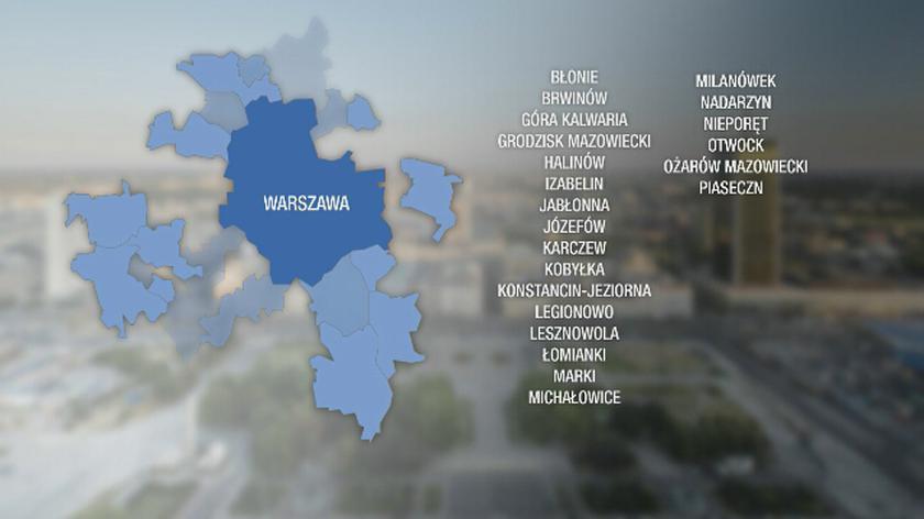 Co z granicami Warszawy?