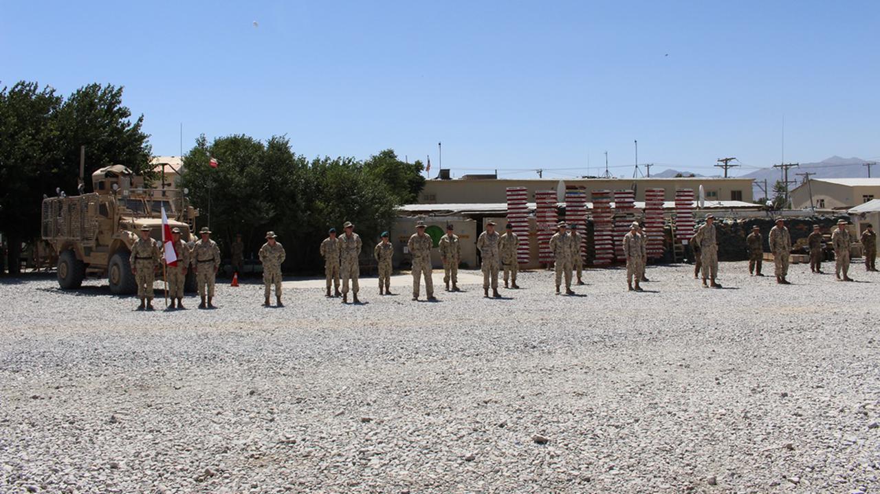 Prawie setka żołnierzy wróciła z Afganistanu zakażona koronawirusem