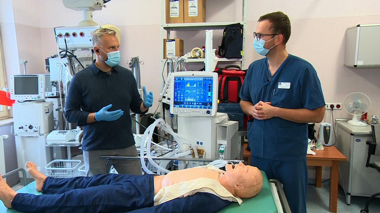 Anestezjolog tłumaczy, jak działa respirator